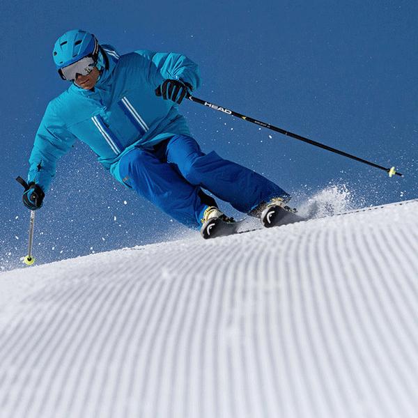 Voir le matériel de ski