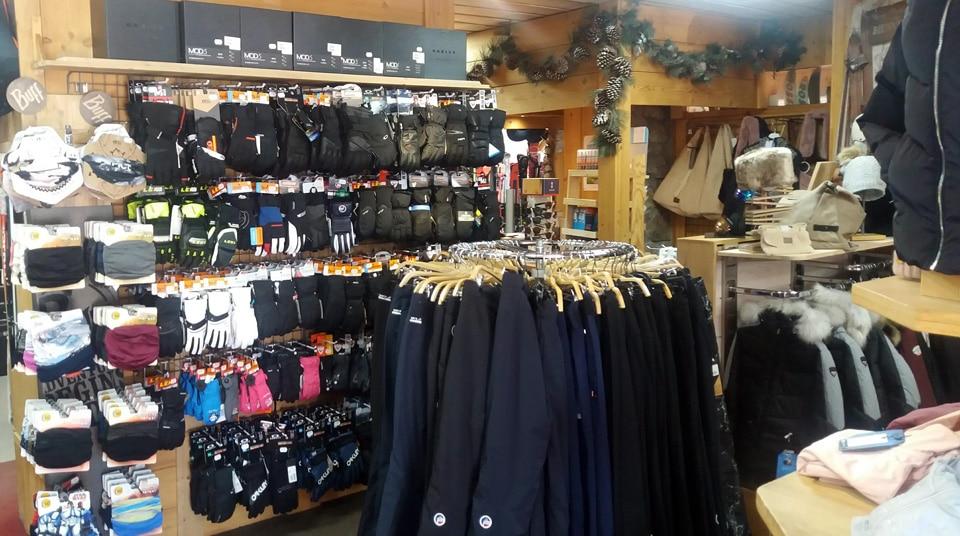 Corner vente gants de ski, tour de cou