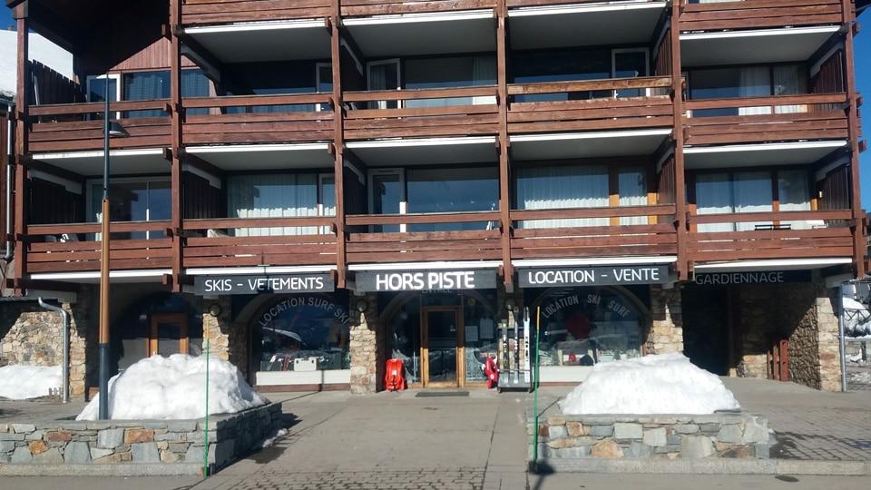 Magasin ski Hors Piste Alpe d'huez: Quartier Rond Point des pistes