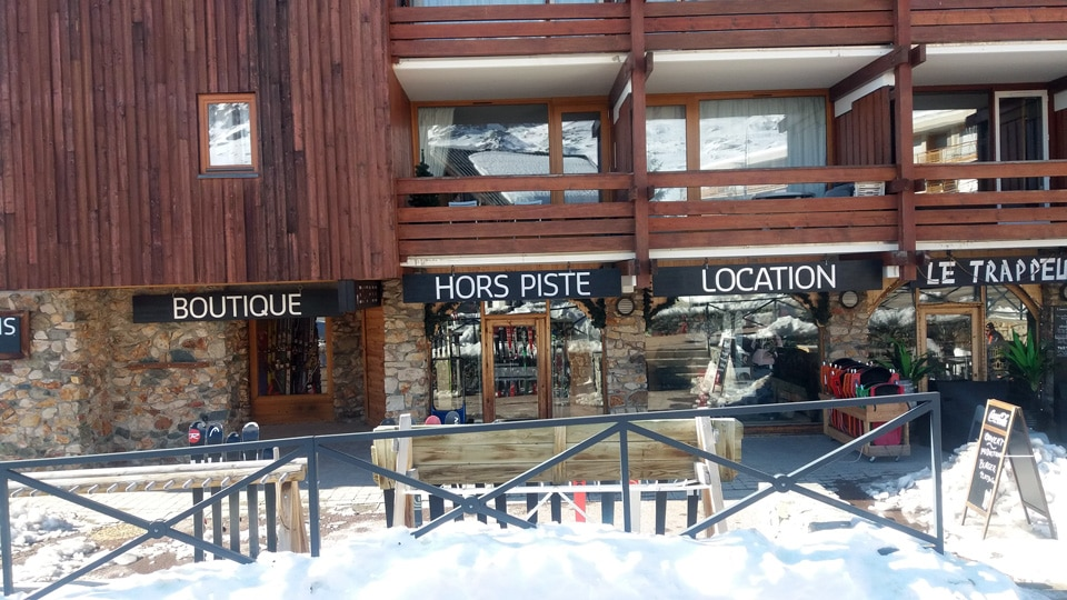 Magasin ski Hors Piste Alpe d'huez: Location, vente, atelier