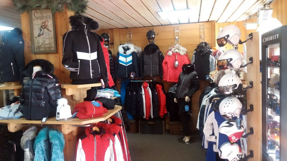Corner vente vêtements ski Femme