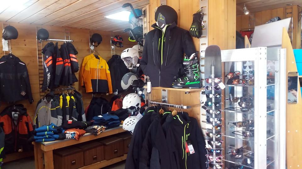 Corner vente vêtements ski Homme